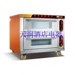 万锋WDL-2-2二层二盘电烘炉 电烤箱 电烤炉