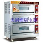 万锋WDL-3三层六盘电烘炉 电烤箱 电烤炉