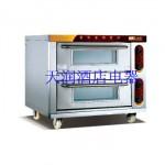 万锋WDL-2-2二层二盘全不锈钢电烘炉 电烤炉 电烤箱