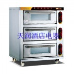 万锋WDL-3-3三层三盘不锈钢电烘炉 电烤箱 电烤炉
