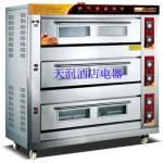 万锋WQL-Y-3-9三层九盘燃气烘炉 燃气烤炉 燃气烤箱