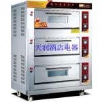 万锋WQL-Y-3三层六盘燃气烘炉 燃气烤箱
