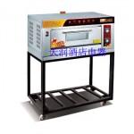万锋WQL-Y-1B一层两盘带架燃气烘炉 燃气烤炉 燃气烤箱