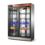 万锋800新款双开门钢低温保洁柜 低温消毒柜