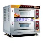 万锋WQL-Y-2双层四盘燃气烘炉 燃气烤箱