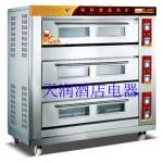 万锋WDL-3-9三层九盘电烘炉 电烤炉 电烤箱