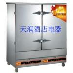 万锋WF-R-24燃气蒸饭柜 蒸饭车