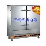 万锋WF-R-20燃气蒸饭柜 蒸饭车