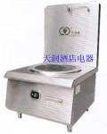 新纽威XNW-PTT8KW单头平头矮汤炉8KW  商用电磁炉