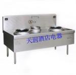 新纽威XNW-PC15KW-B双头单尾抛炒炉15kw  商用电磁炉
