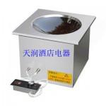 永尚嵌入式凹面电磁炉YS-QRAM300-3K5A 商用电磁炉 电磁厨房设备