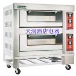 亿高电烤箱/二层四盘烤箱KWS-40 亿高电烘炉 亿高烤箱 2层4盘电烤箱