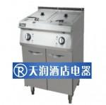 美的XY2-D6510A电热双缸油炸炉连下柜