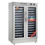 亿高醒发箱FJ24A 双门24盘不锈钢发酵箱 商用24盘发酵箱