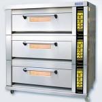 新麦SM-803F燃气烤箱 三层十二盘烤箱