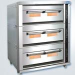 新麦三层燃气烤箱SM-803A 煤气烤炉 燃气烤箱 SINMAG三层十五盘烤箱