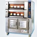 新麦二层烤箱连醒发箱MB-622+SM-10F