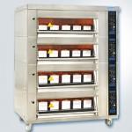 新麦电烤箱MB-644F电烘炉烘箱 四层16盘