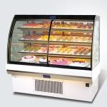 新麦糕点展示柜SA4-F8 新麦弧形糕点展示柜