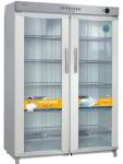 亿高消毒柜YTP800B 紫外线和臭氧双重低温杀菌 商用消毒柜 双玻璃门消毒柜