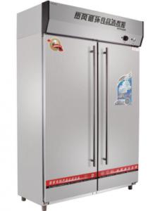 亿高RTP680F高温热风循环消毒柜 商用餐具消毒柜 双门高温消毒柜