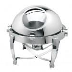 华菱ZC503A/B镀金圆翻盖宴会餐炉