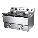 华菱HDF8+8油炸机  商用   供应油炸炉、电炸炉、烤鸡炉、电磁炉一系列商用厨房设备