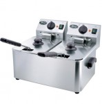 华菱HDF4+4油炸炉  供应油炸炉、电炸炉、烤鸡炉、电磁炉一系列商用厨房设备