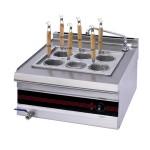 唯利安WYC-600六头煮面炉(新款)厨房煮面设备  台式煮面机 六眼煮面炉 麻辣烫机