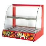 唯利安WYK-896烤肠机 弧型玻璃陈列柜连滚筒式烤香肠机【唯利安代理 唯利安批发】