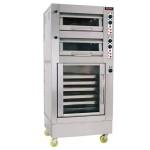 唯利安YXD-2-6S蒸气电焗炉连发酵柜