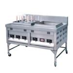 新粤海BDG-7PI喷流式煮面机 带汤盘