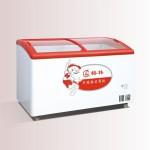 格林SD/C-268Y圆弧玻璃门转换型冷冻/冷藏冰箱【格林展示柜批发】【格林冷柜代理】【格林冰箱价格】