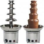 巧克力喷泉机 5层高68CM  304#不锈钢螺杆