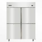 久景SRCP-140不锈钢四门冰箱 风冷冷藏冰箱