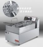 王子DF-E01台式单缸单筛电炸炉  王子西厨电炸炉