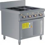 科思博电磁煲仔炉KSB-B02  四头/六头煲仔炉   防辐射电磁灶/电磁炉