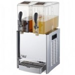 科凯果汁机LRYJ10LX2 双缸搅拌喷淋式冷热饮机