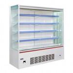 凯雪KX-2.5LFA立式展示柜 雄风系列风幕柜    超市冷藏展示柜