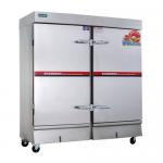 亿高蒸饭车ZFC-20A  商用20盘电蒸箱 双门蒸饭柜 亿高电气两用电热蒸饭柜