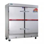 亿高ZFC-24A蒸饭车 商用双门电热蒸柜 亿高24盘蒸箱 商用24盘蒸饭车
