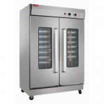 亿高FJ24H发酵箱 双门24盘醒发箱 不锈钢热风循环发酵箱