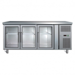 RWA卧式陈列柜GN3100TNG  三门卧式展示柜
