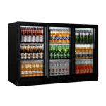 RWA三门饮料展示柜BBC330S  酒水陈列展示柜 三玻璃门展示柜