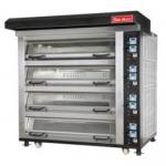 SUN-MATE/三麦King-4C电烤箱 上掀玻璃门电烤箱 四层八盘帝王型电烤箱