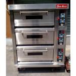 SUN-MATE/三麦燃气炉SGC-3Y   燃气三层六盘烤箱