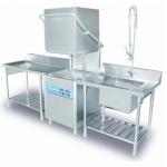 美国艺高商用洗碗机 揭盖式自动洗碗机ECO-F1