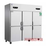 鼎美六门冰箱BRF6 商用六门双温冰箱