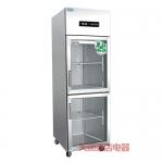 鼎美冷藏展示柜BS0.5G2 鼎美二玻璃门展示冰箱