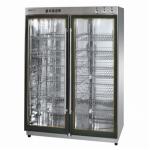 亿途YTP-800A2消毒柜 二玻璃门消毒柜 中温消毒柜